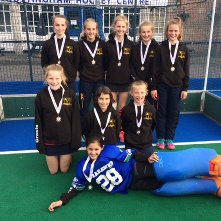 Worcester Hockey U12 Girls are National Runners Up<