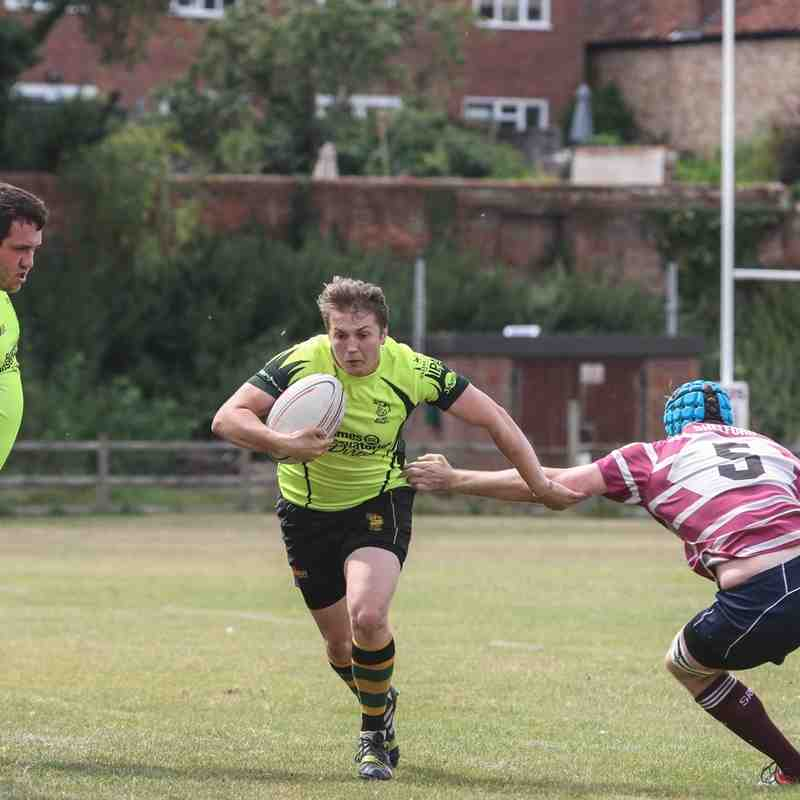 Wolfhounds v Shelford 2's (pre season warm up)