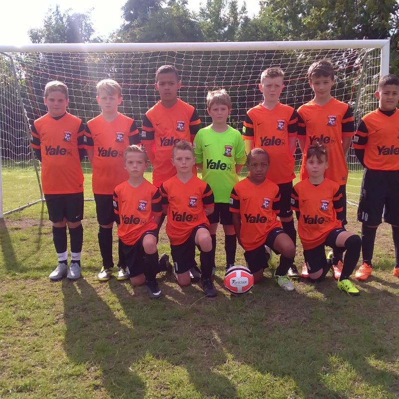 Stuart Field & Tony Brown U12's beat Sutton United Juniors Panthers 5 - 1