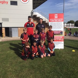 U8s begin the season at Moseley Festival