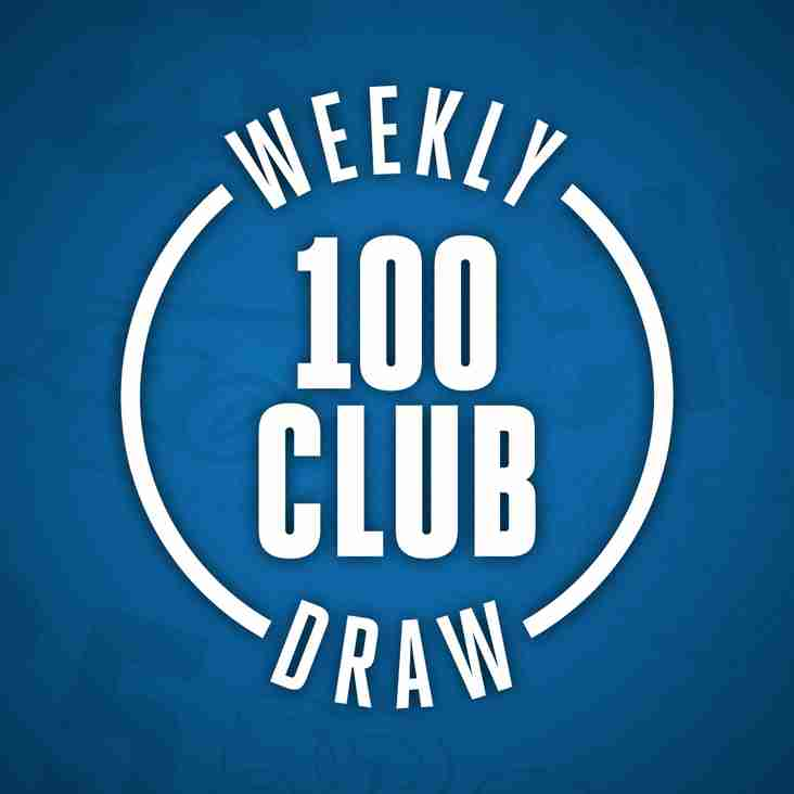 Weekly Draw winners 2018-19