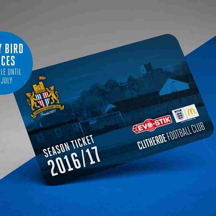 Season tickets go on sale