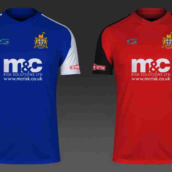 Clitheroe FC and M&C Risk in new shirt sponsorship deal