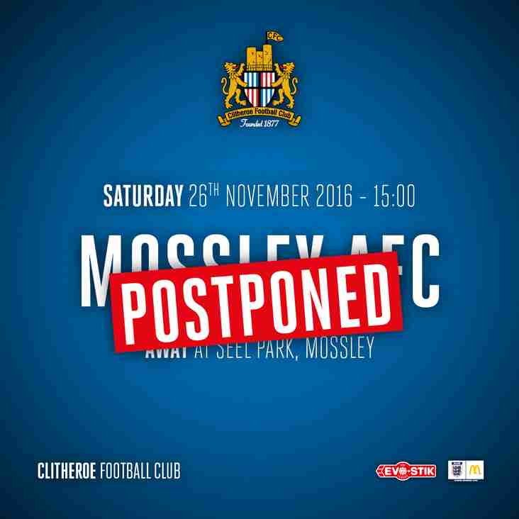Mossley v Clitheroe OFF