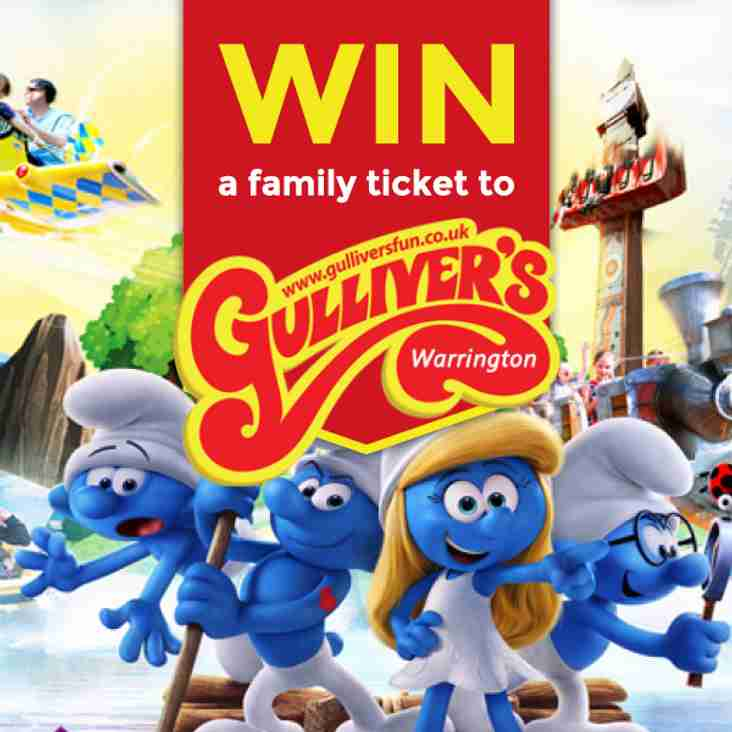 WIN  a family ticket to Gullivers World