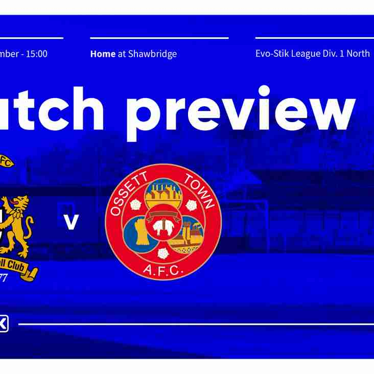 Weekend match preview plus new signings
