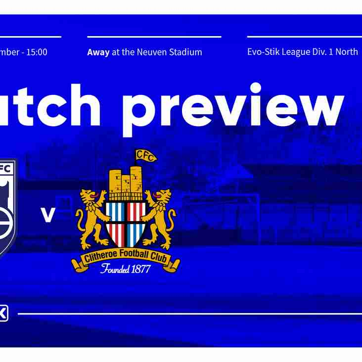 MATCH PREVIEW | Radcliffe Borough v Clitheroe