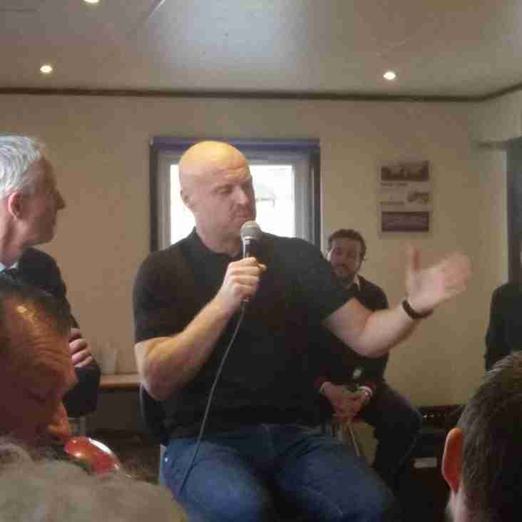Evening with Sean Dyche and Simon Haworth a huge success