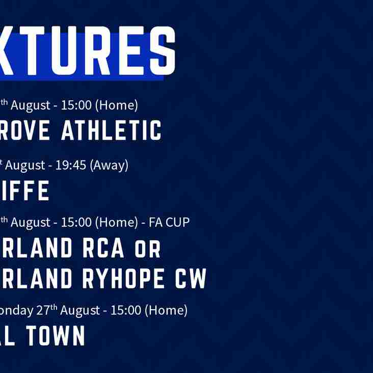 2018/19 league fixtures announced