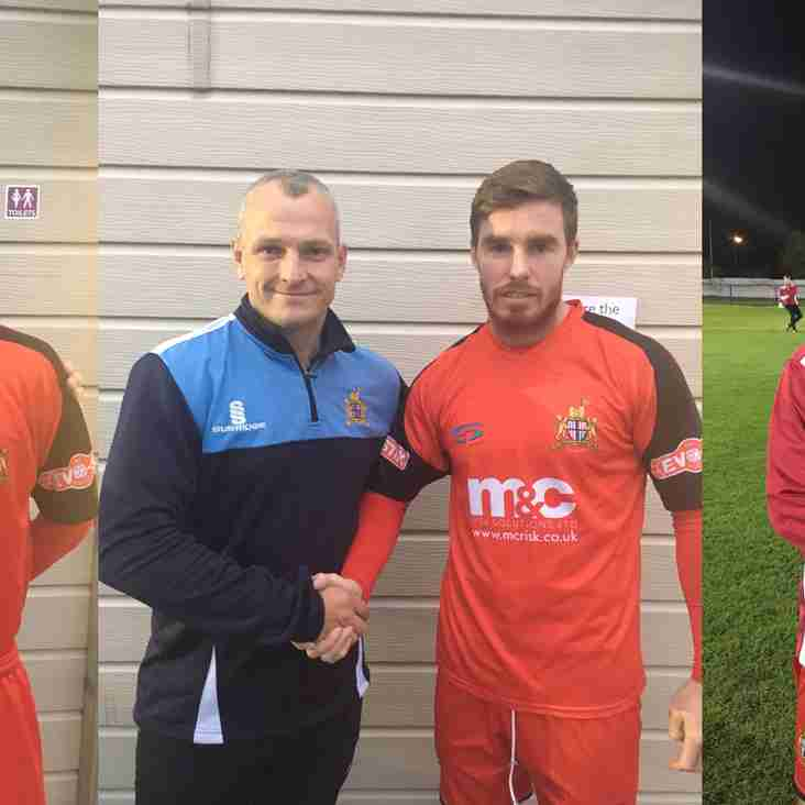 NEW SIGNINGS | Squad bolstered ahead of Glossop game