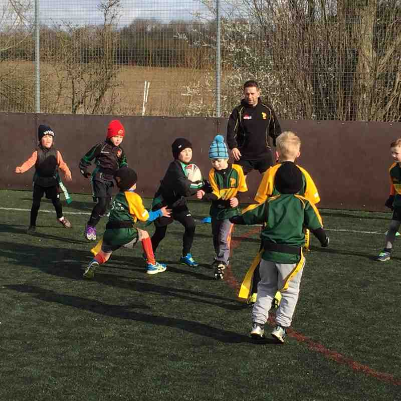 U7s vs. Bury St Edmunds 14/02/2016
