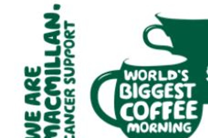 MacMillan Coffee Morning 1st October
