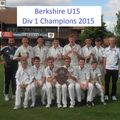 Emmbrook and Bearwood CC - Under 15 vs. Crowthorne & Crown Wood CC - Under 15