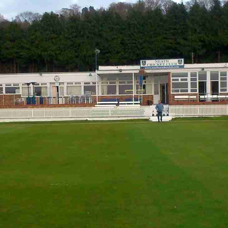 Neath CC 4th XI withdraws from SWCA Division 6 East
