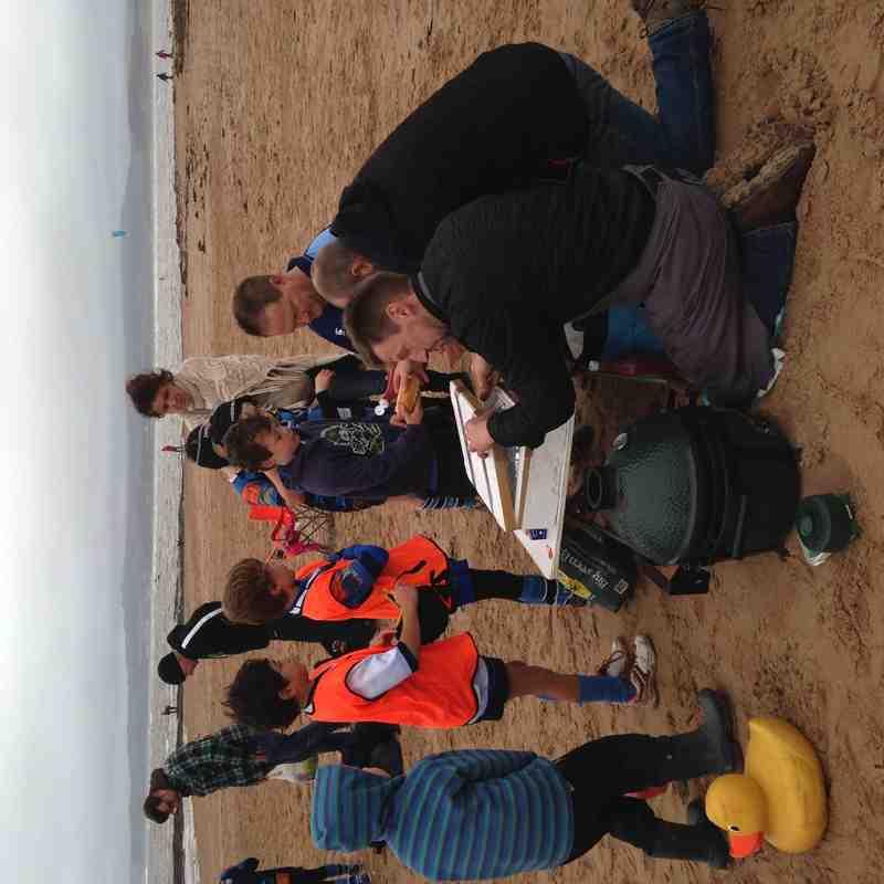 Training 8/11/15 Exmouth Beach