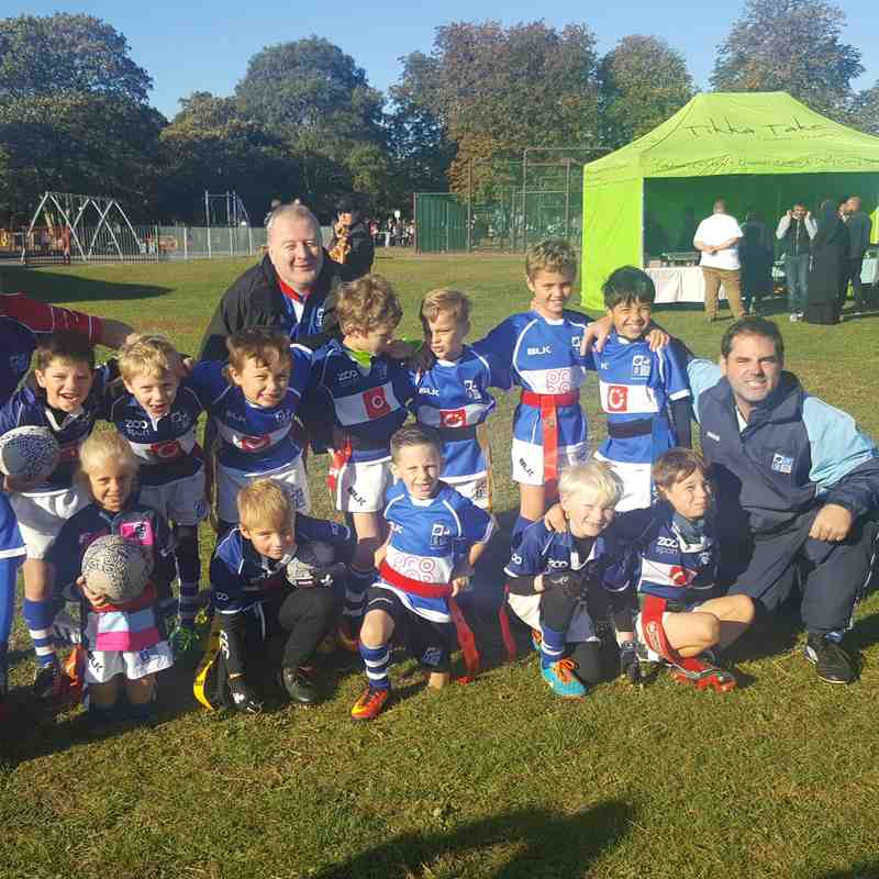 U8s v Upminster Festival (Age groups TBC) - Sun  9 Oct 2016