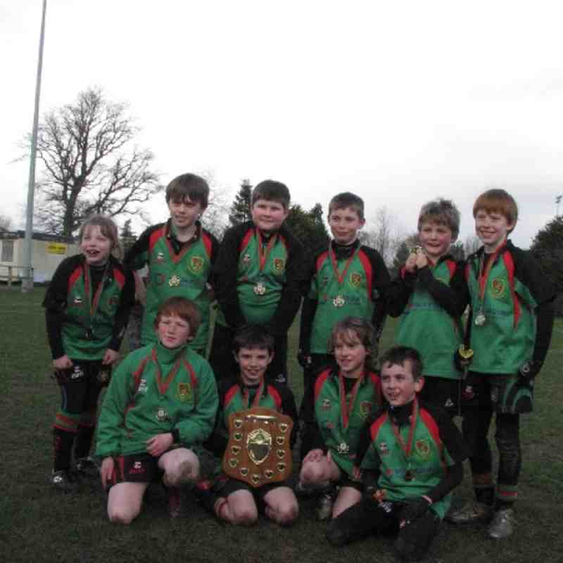 Highland Mini Rugby Tournament P4-5 - 18th March 2012