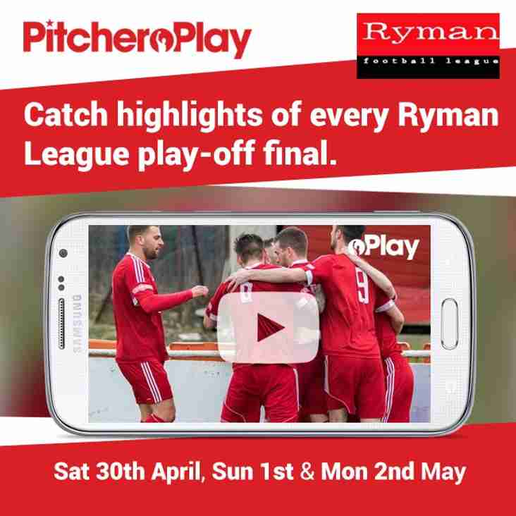 Catch Highlights of every Ryman League Play-off final