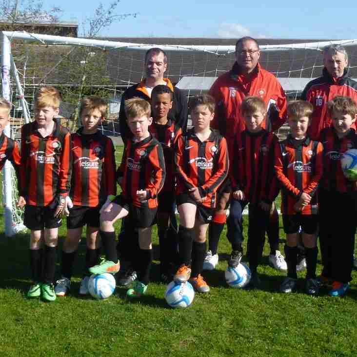 Cup Success for the Cougars Under 10 teams