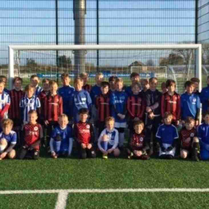 Ashington Cougars play Brighton Invitation teams