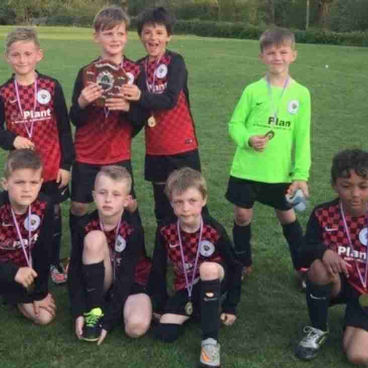 U8s win the Rudgwick Tournament