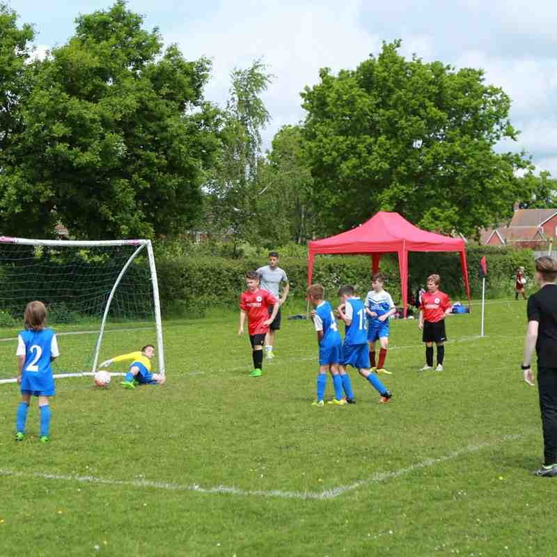 U11 Ashington goal