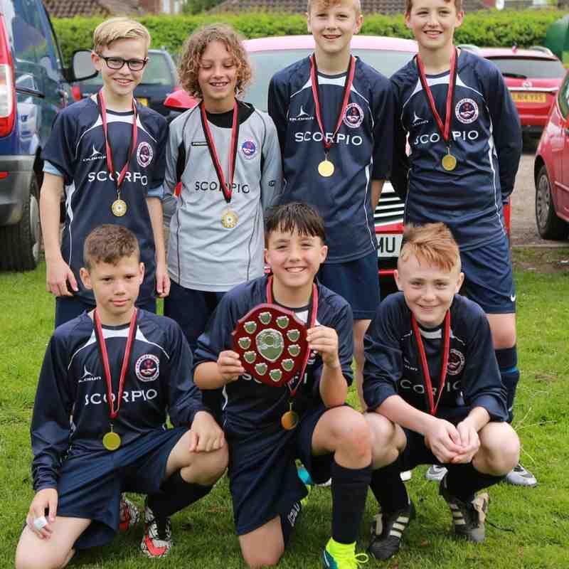 Under 12 Winners Crawley Fc