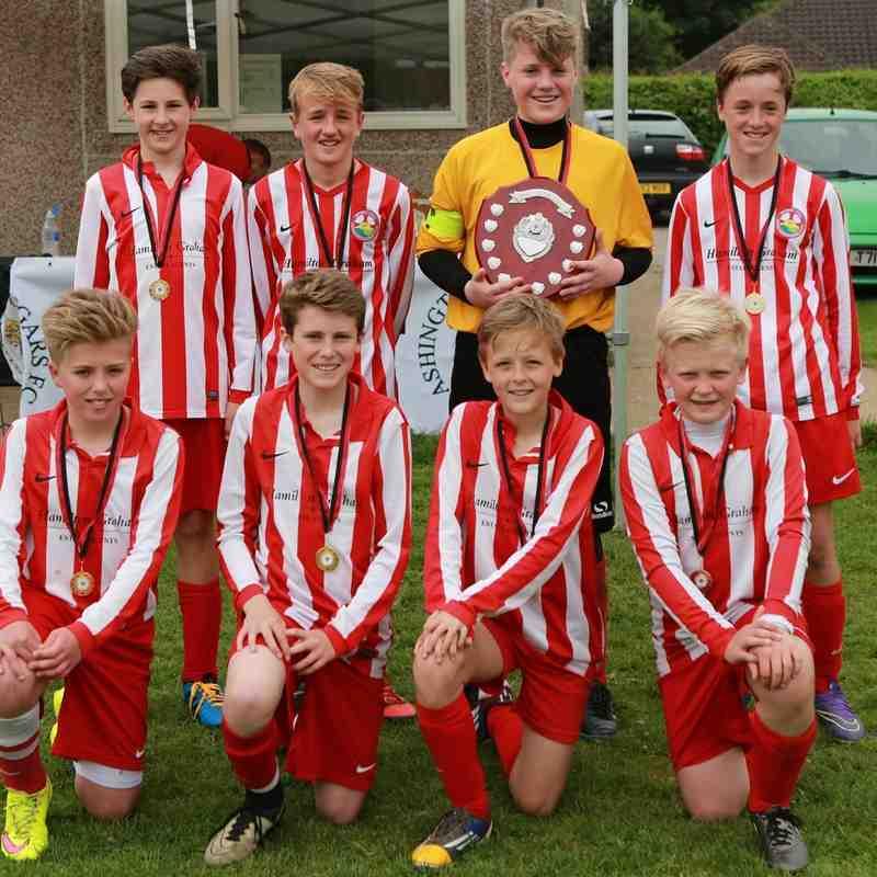 Under 13 winners Steyning Town