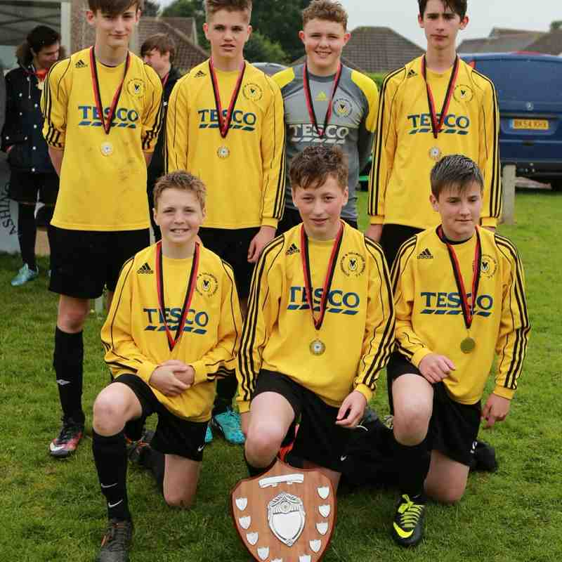 Under 14 Winners Storrington Vipers