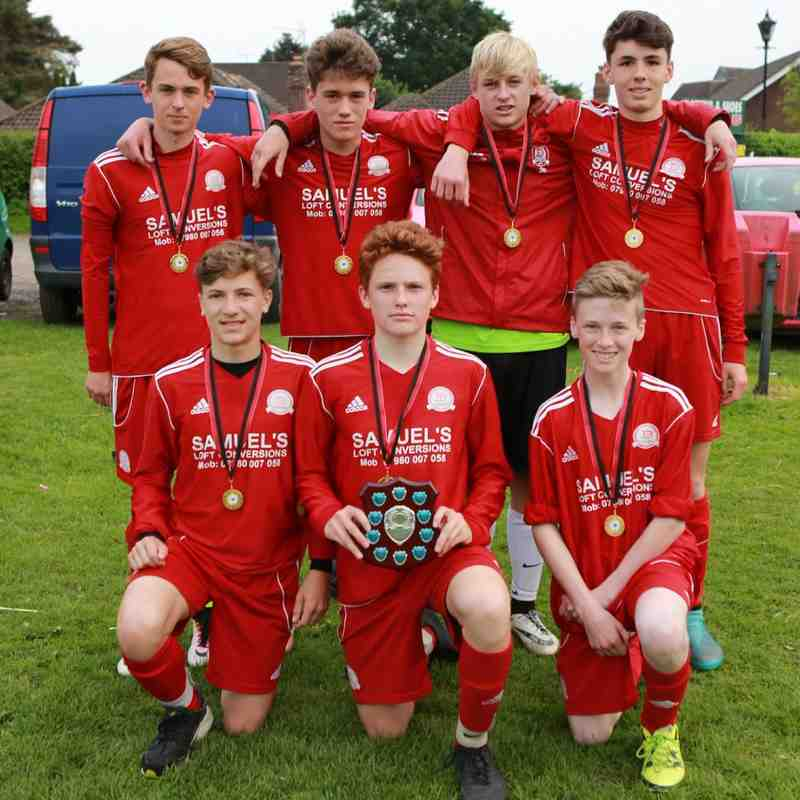 Under 15 Winners Worthing Dynamos