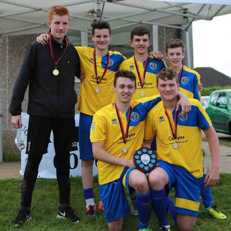 Under 16 Winners Adur Sports Club