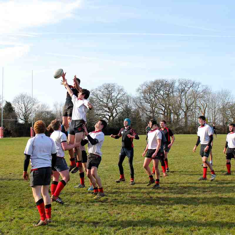 HHRFC Colts vs HHRFC U16's - 08 Feb 2015