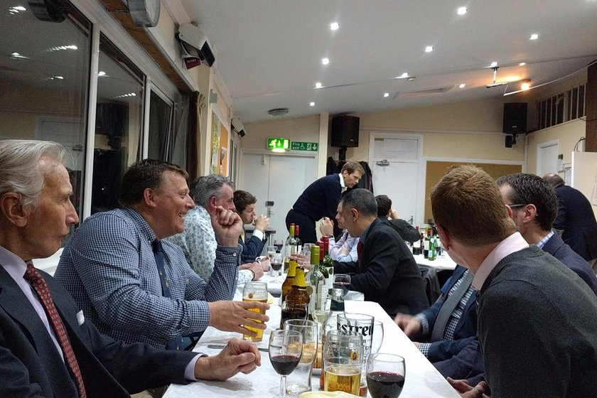 Pre Season Gents Dinner - Friday 13th April