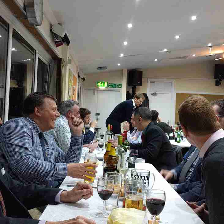 Pre Season Dinner Takes Place On Friday 5th April - SOLD OUT