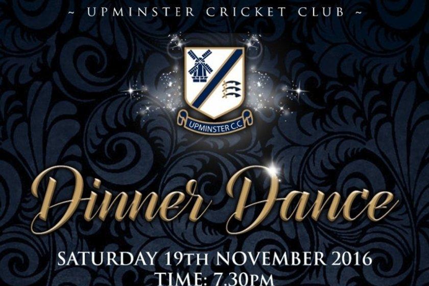 UPMINSTER CRICKET CLUB DINNER DANCE