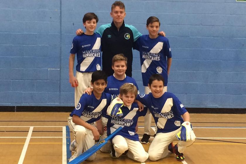 Havering Hurricanes qualify for London Youth Games Indoor Cricket Finals Day