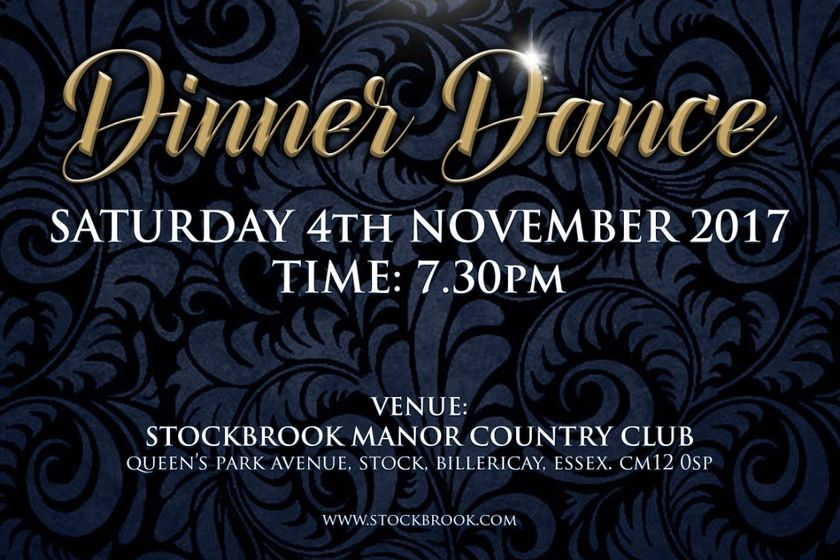 UCC Dinner and Dance Saturday 4th November