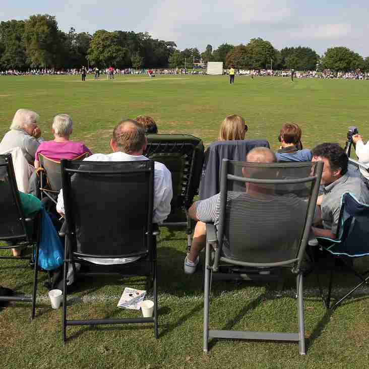 Sunday's Benefit Match - Refreshments And Facilities