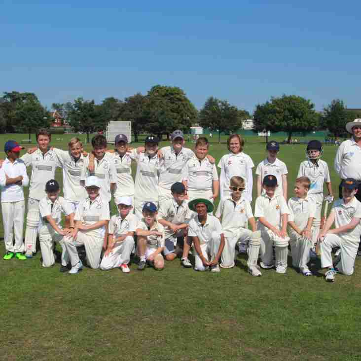 Benefit Match - U11s Defeated By Invitational XI