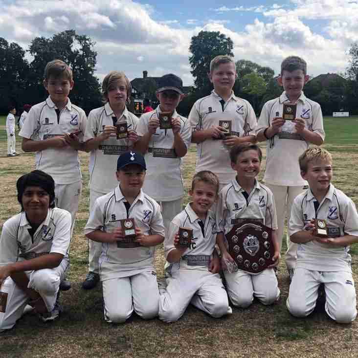 Under 9s Win Don Coates Trophy