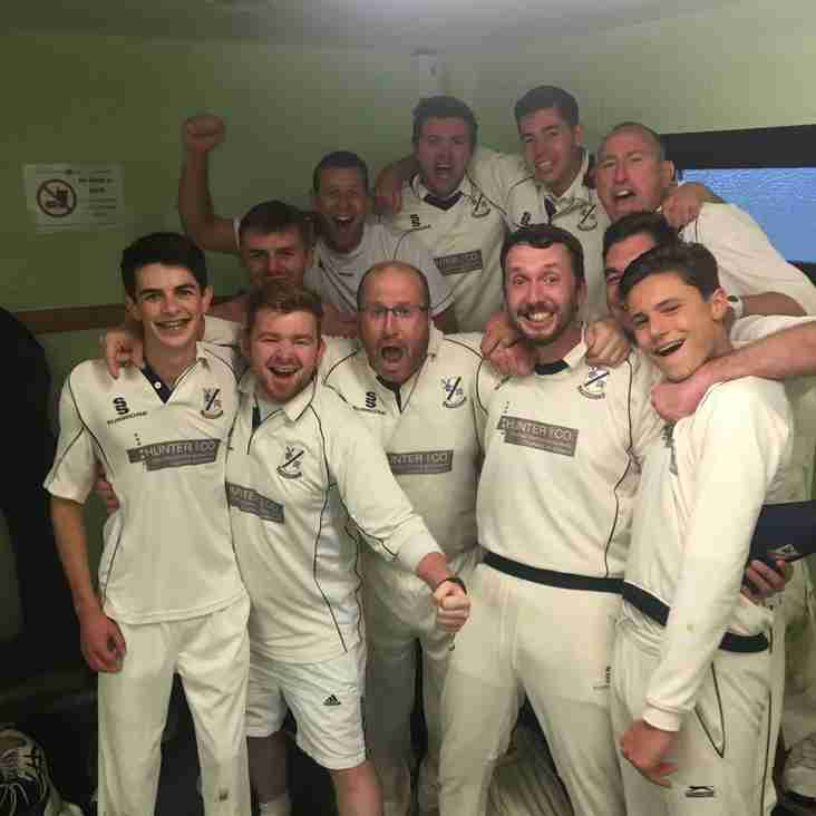 3rd XI Finally Crowned Champions