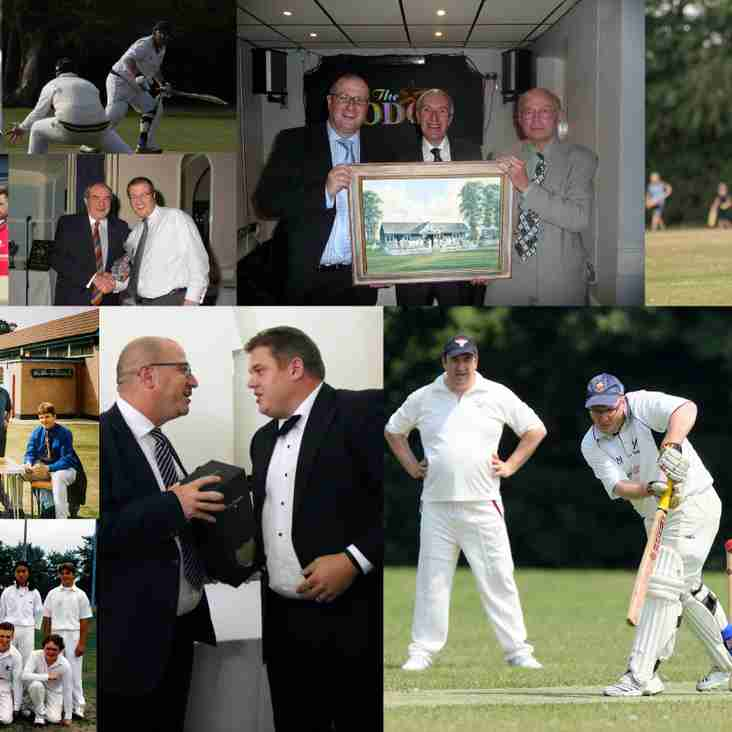 Paul Middlemiss awarded Life Vice Presidency of Upminster Cricket Club
