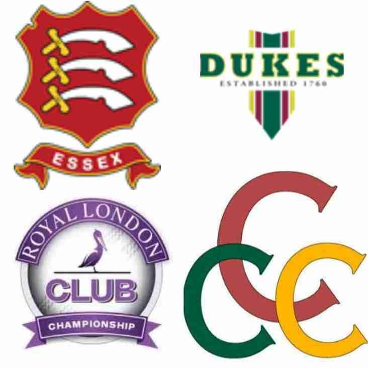 Upminster Find Out Cup Opponents