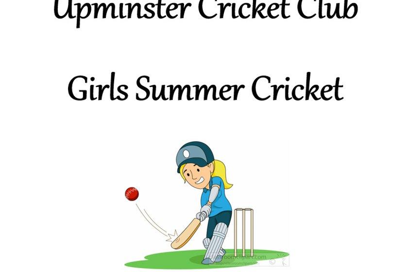 Girls Summer Cricket