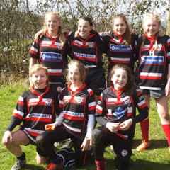 Baildon U'13's visit Littleborough girls festival
