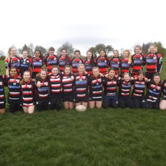 Baildon RUFC girls team
