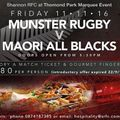 Munster v New Zealand Maori Match