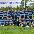 Shannon R.F.C. Weekly Notes Week Ending: 18/05/16