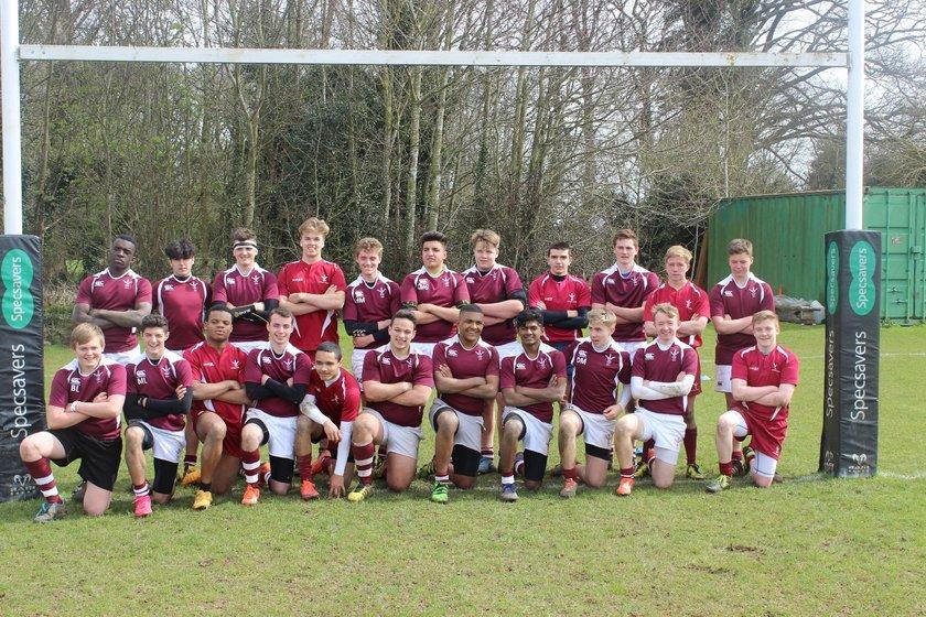 Ruislip U18 beat Hertford B 28 - 26