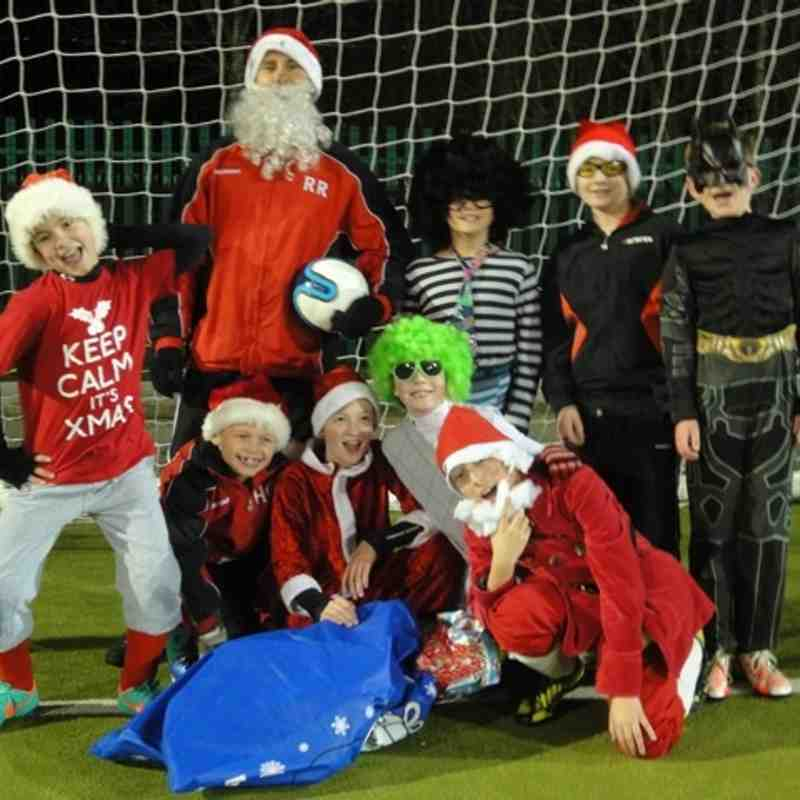Xmas Fancy dress training